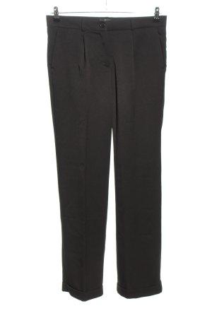 bpc selection Pantalon zwart zakelijke stijl