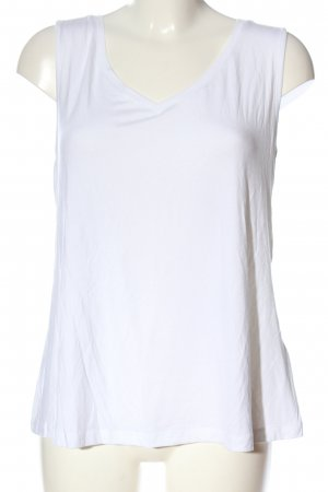 bpc selection Top basic bianco stile casual