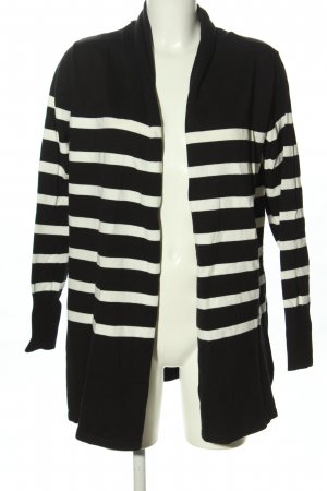 bpc selection Cardigan black-white striped pattern casual look