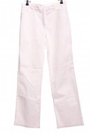 bpc selection Chinohose weiß Casual-Look