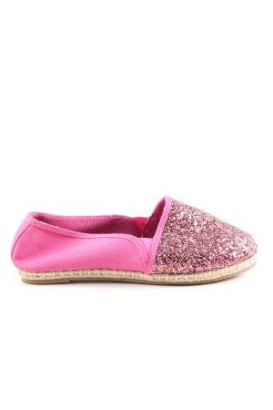 bpc selection Espadrilles-Sandalen pink-braun Casual-Look