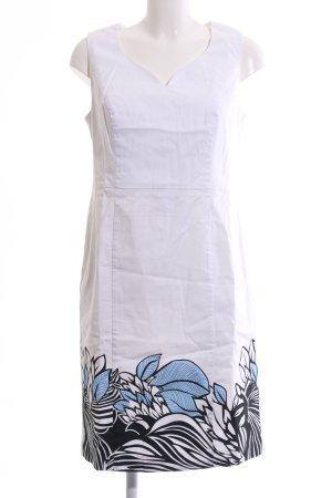 bpc selection Robe fourreau motif de fleur style décontracté