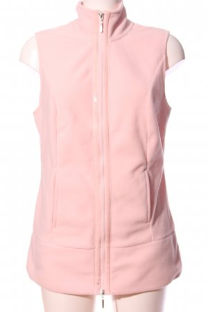 bpc selection Chaleco de forro rosa look casual