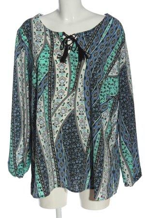 bpc selection Blusa-camisa estampado repetido sobre toda la superficie