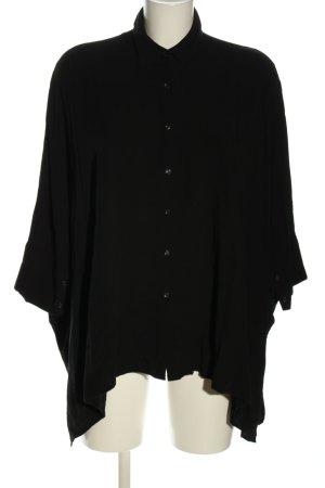 bpc selection Hemd-Bluse schwarz Casual-Look