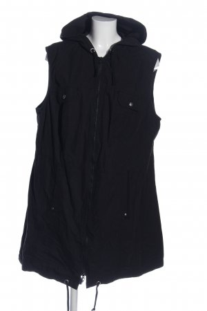 bpc selection Hooded Vest black casual look