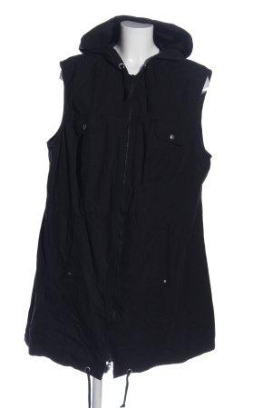 bpc selection Capuchon vest zwart casual uitstraling