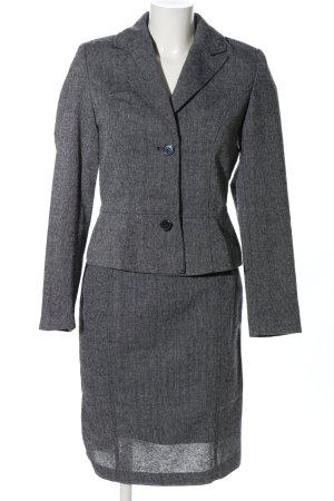 bpc selection Kostüm hellgrau Webmuster Business-Look