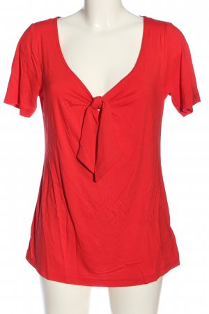 bpc selection Kurzarm-Bluse rot Casual-Look
