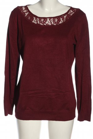 bpc selection Fine Knit Jumper red casual look