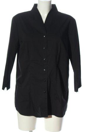 bpc selection Shirt met lange mouwen zwart zakelijke stijl