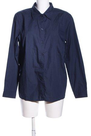 bpc selection Langarmhemd blau Business-Look