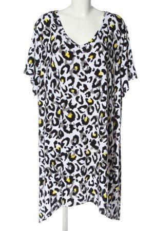 bpc selection Lang shirt abstract patroon casual uitstraling