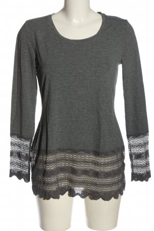 bpc selection Longsleeve light grey-brown casual look