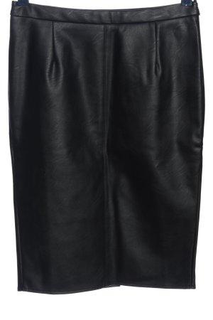 BPC Selection Premium Falda de cuero de imitación negro look casual