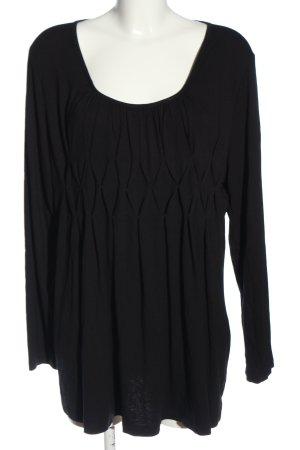 BPC Selection Premium Koszulka z długim rękawem czarny W stylu casual