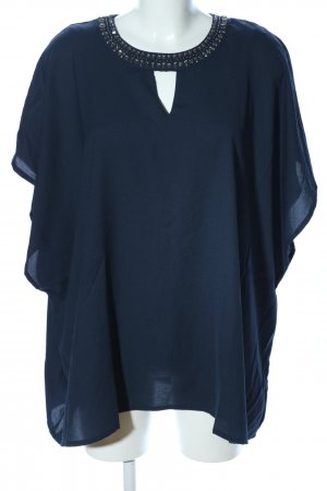 BPC Selection Premium Oversized Bluse blau Casual-Look