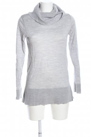 BPC Selection Premium Maglione dolcevita grigio chiaro puntinato stile casual