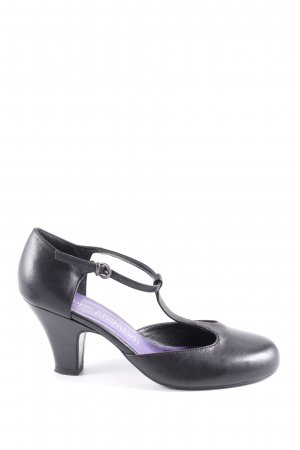 BPC Selection Premium T-Steg-Pumps schwarz Business-Look
