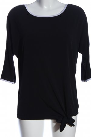 bpc selection Slip-over Blouse black-white casual look