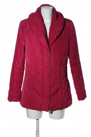 bpc selection Steppjacke rot Steppmuster Casual-Look