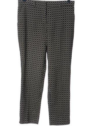 bpc selection Pantalon en jersey noir-blanc imprimé allover style décontracté