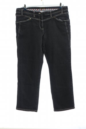 bpc selection Jeans a gamba dritta nero stile casual