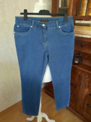 bpc selection Stretch jeans blauw Katoen