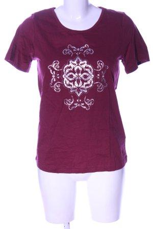 bpc selection T-Shirt pink themed print casual look