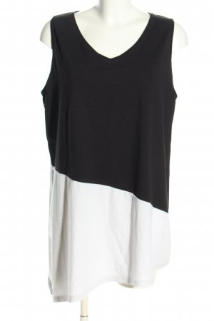 bpc selection Trägertop schwarz-weiß Casual-Look