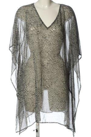 bpc selection Blusa transparente gris claro-negro look casual