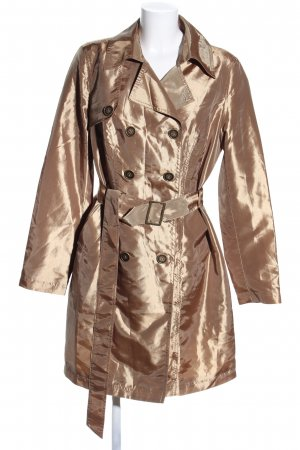 bpc selection Trench Coat gold-colored extravagant style