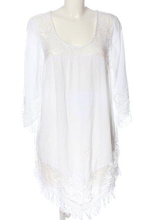 bpc selection Blusa de túnica blanco look casual