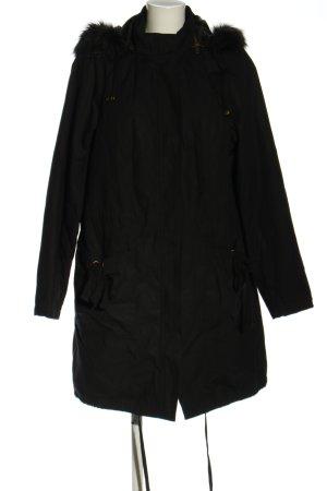 bpc selection Manteau d'hiver noir style décontracté