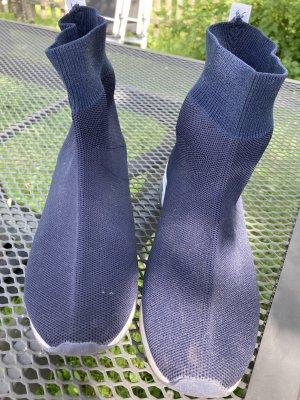 bpc High top sneaker blauw