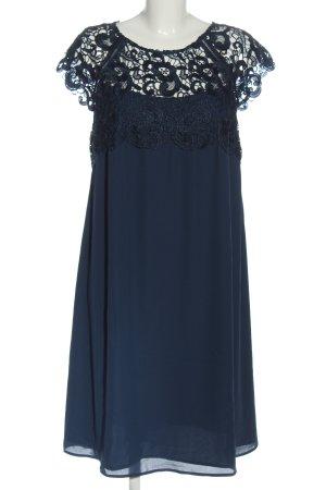 bpc Lace Dress blue elegant