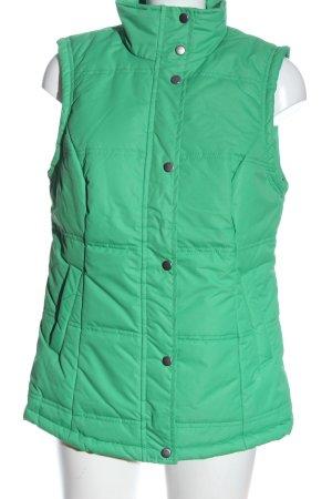 bpc Smanicato trapuntato verde motivo trapuntato stile casual