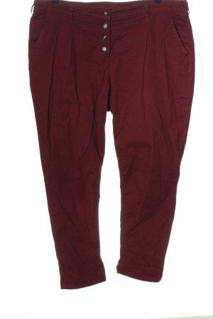 bpc Pantalon en jersey rouge style décontracté