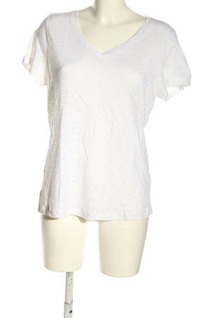 bpc Koszulka z dzianiny biały W stylu casual