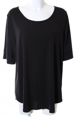bpc T-Shirt schwarz Casual-Look