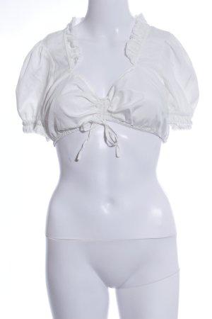 bpc Blusa tradizionale bianco elegante