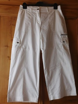 bpc bonprix collection Pantalon cargo blanc