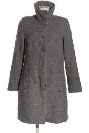 bpc Manteau mi-saison gris clair moucheté style décontracté