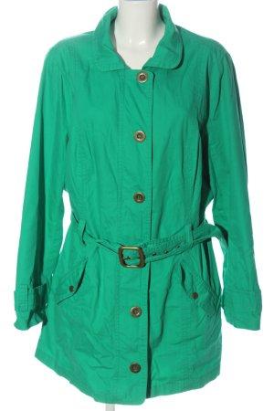 bpc Manteau mi-saison vert style décontracté