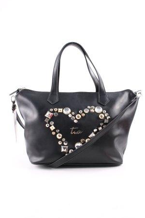 Braccialini Handtasche schwarz Casual-Look