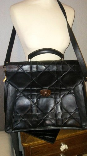 Briefcase black mixture fibre