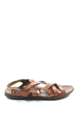 Brador Sandalias romanas marrón look casual