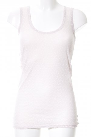 Braez Top basic crema stampa integrale stile casual