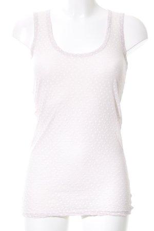 Braez Basic Top cream allover print casual look