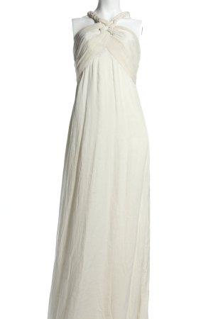 Braez Robe longue blanc cassé style décontracté